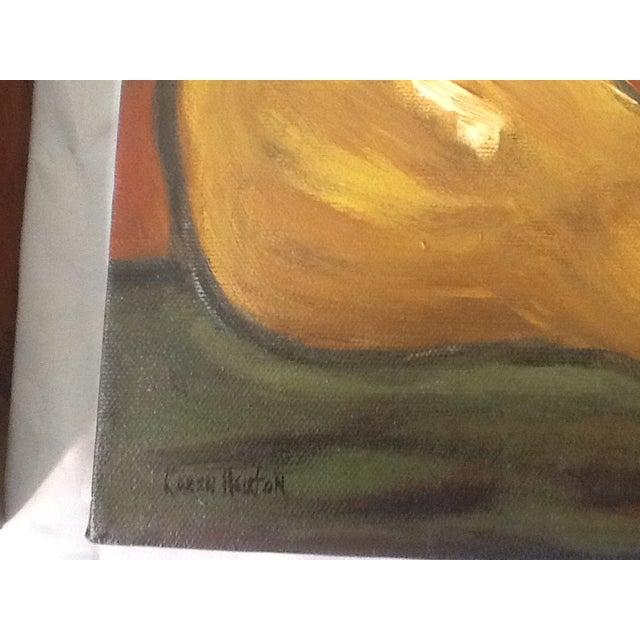 Three Pears Original Acrylic Paintings - S/3 - Image 8 of 9