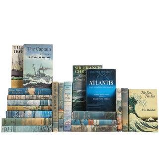 Mid-Century Coastal Books - Set of 20