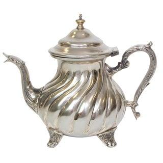 Vintage Hammered Moroccan Teapot