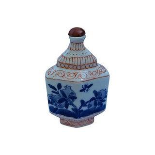 Hand Painted Porcelain Bottle