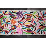 Image of Multicolor Hand-Woven Tenango Table-Runner