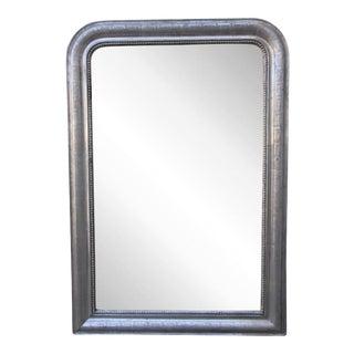 19th Century Louis Philippe Silvered Mirror