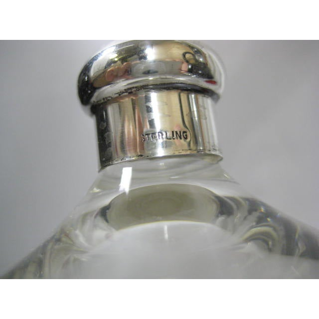 Sterling Finial & Base Covered Glass Candy Dish - Image 6 of 11