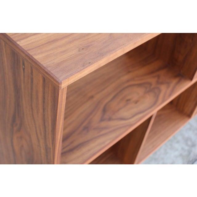 Modern Walnut Bookcase Shelf - Image 10 of 10