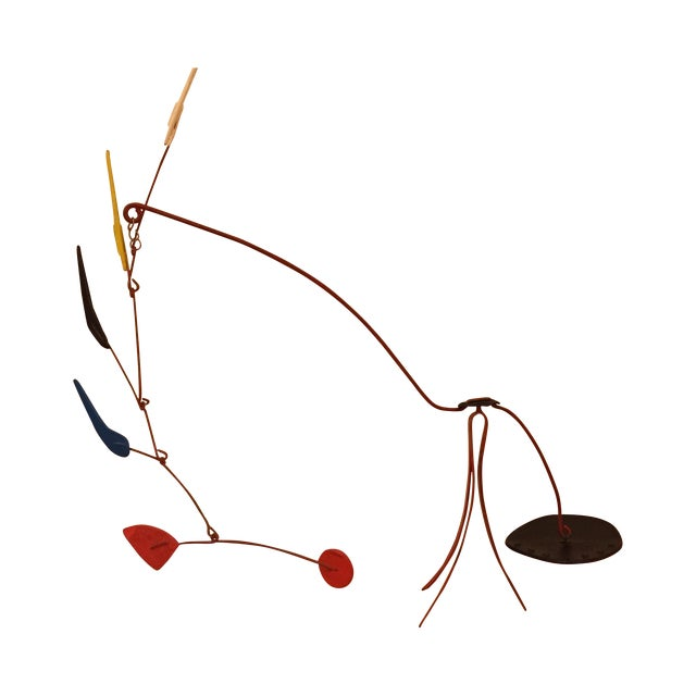 Abstract Mobile F. Ancil in the Manner of Calder - Image 1 of 11
