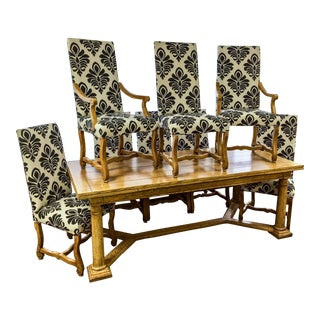 Baker Furniture French Style Dining Set
