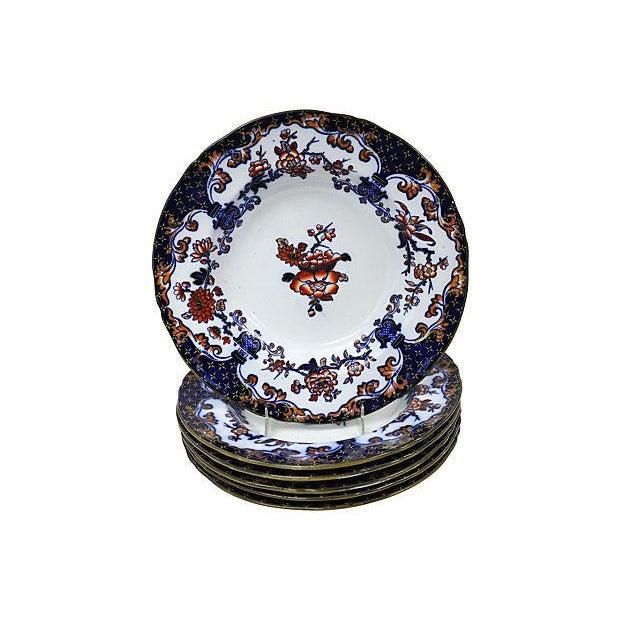 1850s Minton's Soup & Pasta Bowls - S/6 - Image 1 of 2