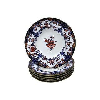 1850s Minton's Soup & Pasta Bowls - S/6