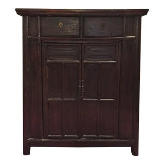 Chinese Antique Tapered Cabinet