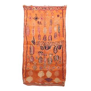 """Boujad Vintage Moroccan Rug -- 5'9"""" x 10'0"""""""