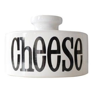 Vintage TG Green Spectrum Ceramic Cheese Dome