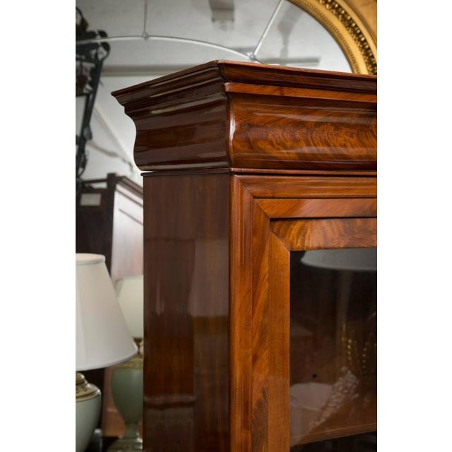 19th Century French Empire Mahogany Bookcase - Image 3 of 10