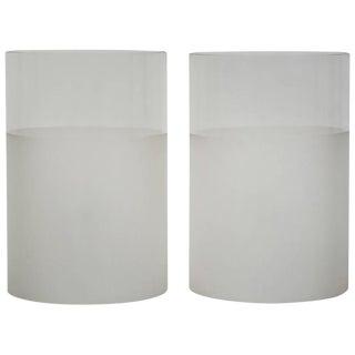 "Pair of ""Fatua"" Table Lamp by Guido Rosati for Fontana Arte"
