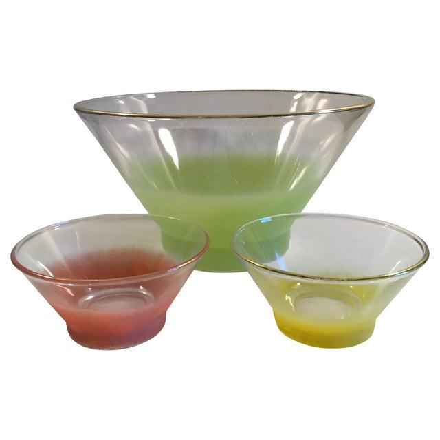 Vintage Blendo Bowls - Set of 3 - Image 1 of 7