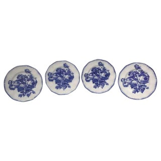 Flow Blue Ironstone Plates