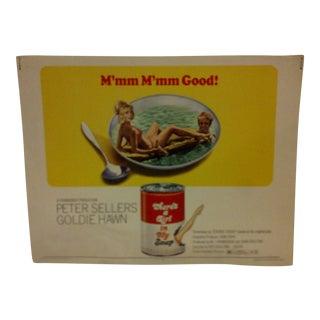 "Vintage Movie Poster ""M'mm M'mm Good"" 1970"