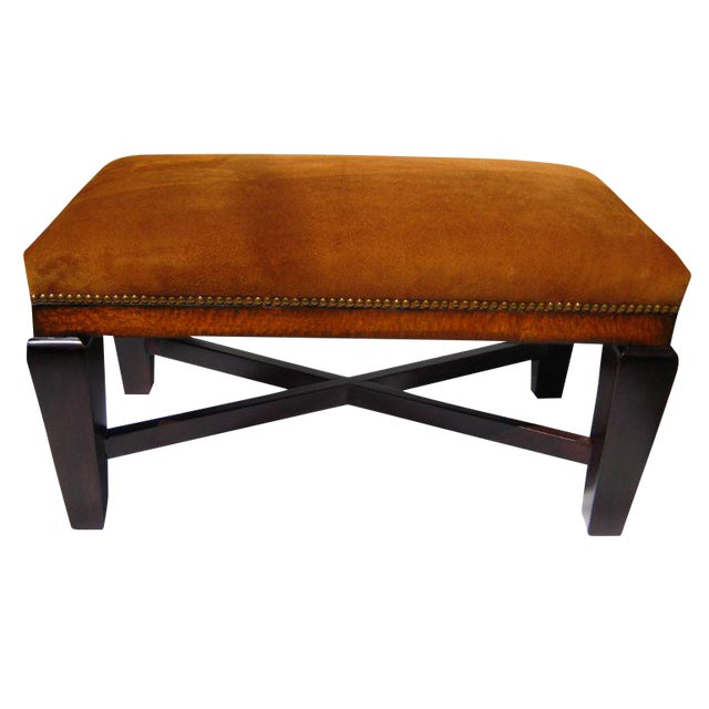 Bench in Polo Ralph Lauren Nubuck Suede Leather - Image 1 of 5