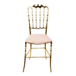 Gorgeous Chiavari-Style Brass Chair