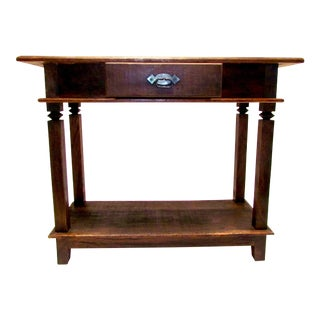 Antique Beautiful Console Table - Eco-Friendly Reclaimed Solid Wood