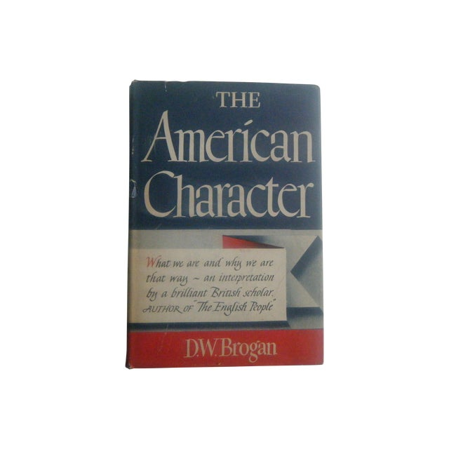 The American Character, 1940s Vintage Book - Image 1 of 5