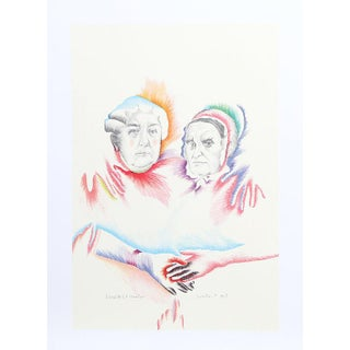 Marisol Escobar Lithograph Print - Woman's Equality