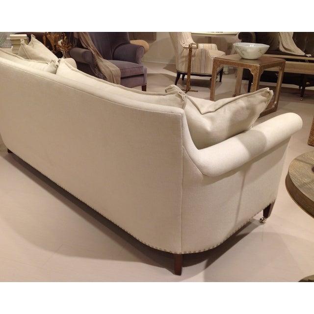 Lillian August Paris Linen Sofa - Image 4 of 9