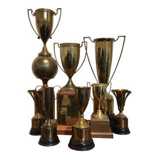Collection of Vintage Trophies - S/8
