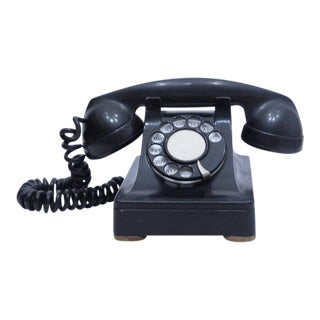 Vintage Western Electric Bell Systems Black F1 Rotary Phone