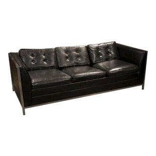Mid-Century Danish Chrome Sofa