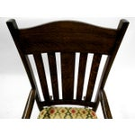 Image of Early 20th Century Oak Rocking Chair