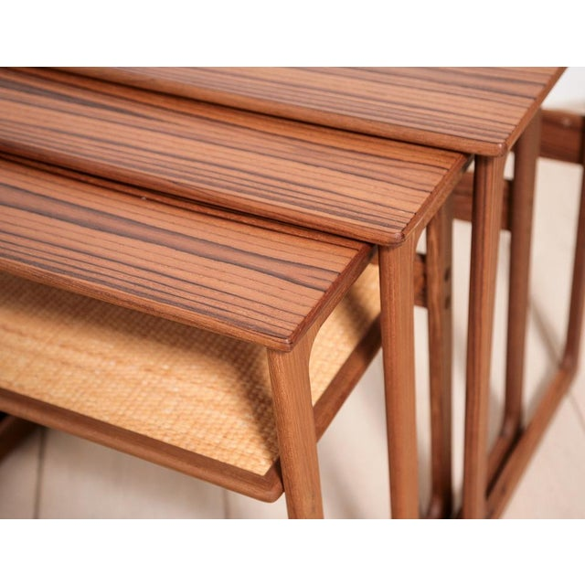 Johannes Andersen Nesting Tables - Image 7 of 11