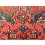 "Image of Vintage Persian Zanjan Area Rug - 3'4""x4'6"""