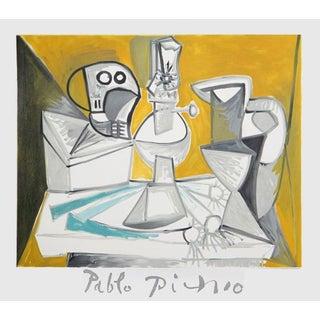 Pablo Picasso Tete De Morte Lampe Cruches Et Poi