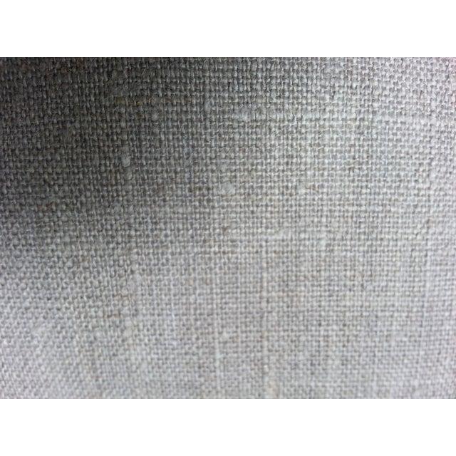 Tibal Indigo Embroidered Lumbar Pillow - Image 5 of 5