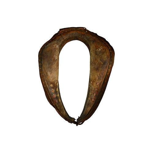 Image of Vintage Equestrian Leather Horse Collar