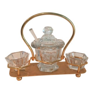Baccarat Condiment Set
