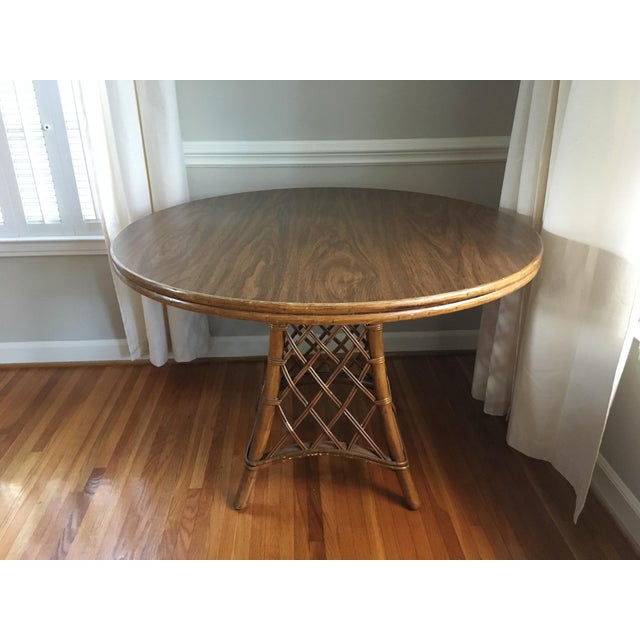 Ficks Reed Dining Set (Table + 4 Chairs) - Image 2 of 7