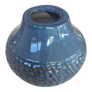 Blue Star Ceramic Pottery Vase