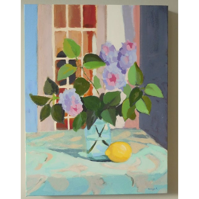 """Lilac With Lemon"" by A. Carrozza Remick - Image 3 of 6"