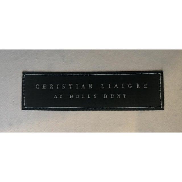 Christian Liaigne for Holly Hunt Nabob Chaise Lounge - Leonard Nemoy Estate - Image 5 of 6