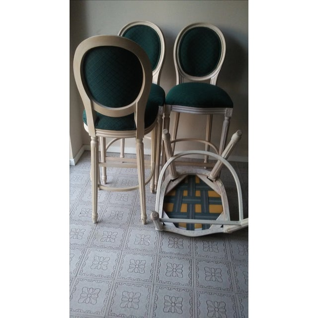 French Louis XVI Style Bar Stools - 4 - Image 8 of 10