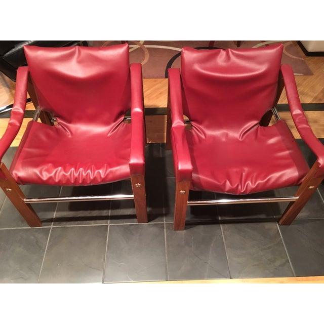 Image of Arkana Safari Chairs by Maurice Burke - A Pair