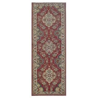 Vintage Persian Tabriz Rug - 3′2″ × 11′