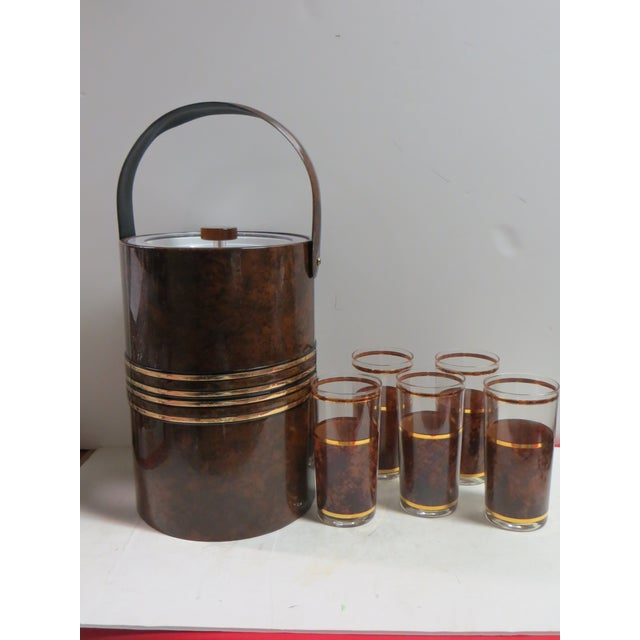 Briard Tortoise Bar Set - Set of 7 - Image 2 of 3