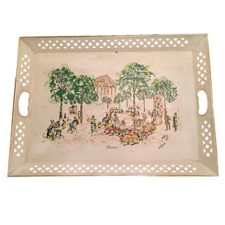Artist Painted Tray