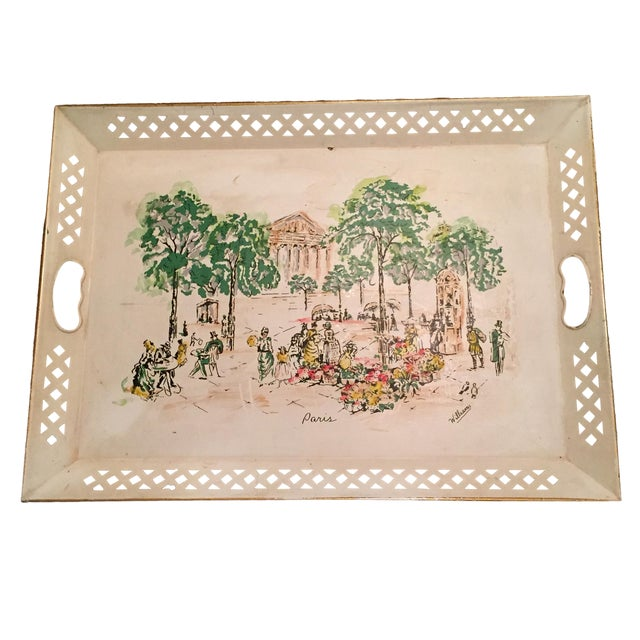 Artist Painted Tray - Image 1 of 11