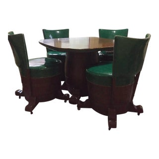Whiskey Barrel Dining Set