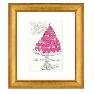 Warhol Wild Raspberries Pink Print