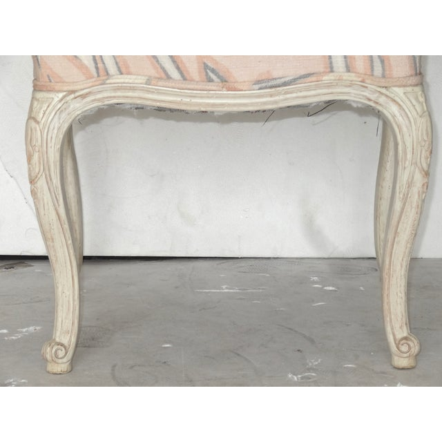 French Country High Back Bergeres - A Pair - Image 7 of 7