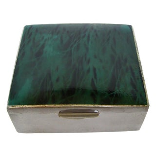 Enameled Nickel Accent Box